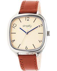 Simplify - Unisex The 3501 Watch - Lyst
