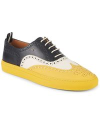 Bally - Hernest Lace-up Leather Trainers - Lyst