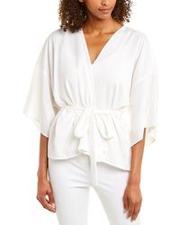 Emerson Fry - Wrap Top - Lyst