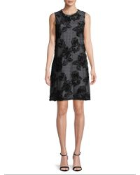 Karl Lagerfeld | Floral Embroidery Dress | Lyst