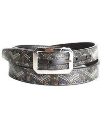 Goyard Black Ine Canvas Belt (size S, Nwt)