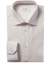 Eton of Sweden Slim Fit Dress Shirt - Pink