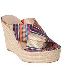 Charles David Leilani Wedge Sandal - Multicolour