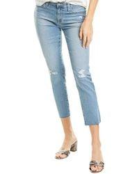 AG Jeans The Prima 24 Years Summer Haze Cigarette Crop - Blue