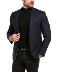 Isaia Gregory Wool & Cashmere-blend Sportcoat - Multicolour