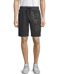 Superdry - Graphic Sweat Shorts - Lyst