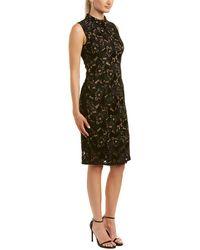 Adrianna Papell Shift Dress - Black