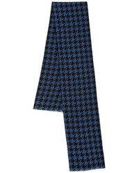 Saks Fifth Avenue - Collection Houndstooth Silk Scarf - Lyst