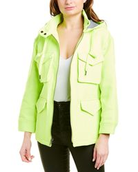 Alice + Olivia Russo Hooded Parka - Green