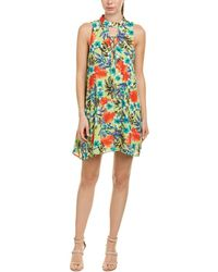Peach Love CA - Lace-up Shift Dress - Lyst