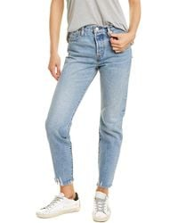 Levi's Wedgie Icon Fit Light Tapered Leg Jean - Blue