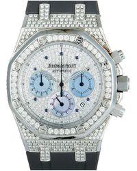 Audemars Piguet Audemars Piguet Royal Oak Chronograph Unisex Diamond Watch - Multicolour