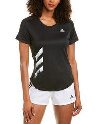 adidas Outdoor Run It T-shirt - Black