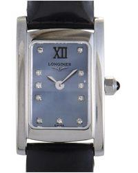 Longines Longines Women's Dolcevita Stainless Steel Quartz Watch - Multicolor