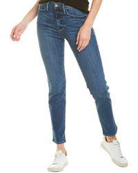 FRAME Denim Le Sylvie Stallion Straight Leg Jean - Blue