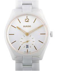Rado Unisex Ceramic Watch - Metallic