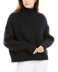 Autumn Cashmere Cashmere & Wool-blend Jumper - Blue