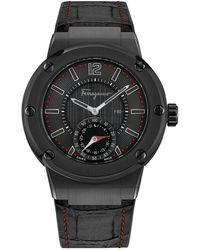 Ferragamo Men's F-80 Motion Watch - Black