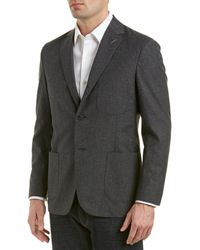 Michael Bastian Michael Bastion Grey Label Slim Fit Wool Sportcoat