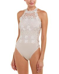 Josie Natori Element Bodysuit - Multicolour