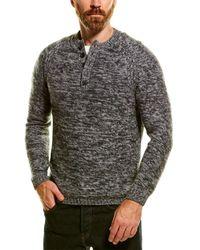 NAADAM Wool & Cashmere-blend Henley - Gray