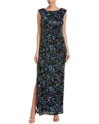 Aidan Mattox Gown - Blue
