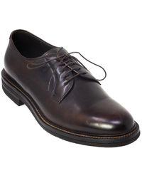 Brunello Cucinelli Leather Dress Shoe - Black