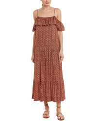 Rebecca Minkoff Lapaz Maxi Dress - Pink