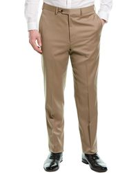 Brooks Brothers Wool-blend Trouser - Natural