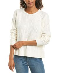 ATM Anthony Thomas Melillo Cable-knit Jumper - White