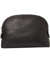 Longchamp - Le Foulonné Leather Cosmetic Case - Lyst