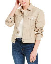 Helmut Lang Femme Denim Trucker Jacket - Natural