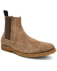 AllSaints Allsaints Rhett Suede Chelsea Boot - Brown