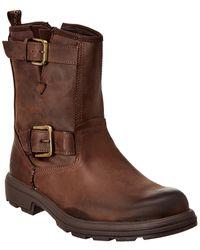 UGG Biltmore Moto Leather Boot - Brown