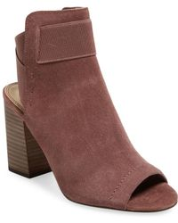 Splendid - Daina Leather Ankle Bootie - Lyst