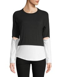 Body Language - Ali Cut-out Top - Lyst