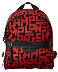 Longchamp Le Pliage Lgp Small Nylon Backpack - Red