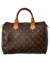 Louis Vuitton Monogram Canvas Speedy 30 - Brown