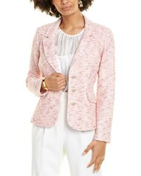 St. John Space-dye Jacket - Pink