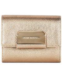Stuart Weitzman - Alewas Leather Card Holder - Lyst