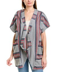 BCBGeneration Blanket Jacket - Grey