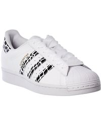 adidas Superstar Leather Sneaker - Multicolor