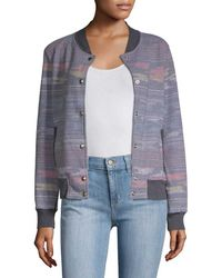 Sol Angeles Print Bomber Jacket - Multicolor