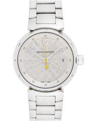 Louis Vuitton Louis Vuitton 2000s Women's Tambour Watch - Metallic