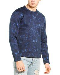 Valentino Scuba Crewneck Sweatshirt - Blue