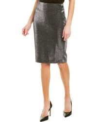 T Tahari Skirt - Grey