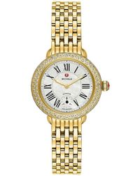 Michele Women's Serein Diamond Watch - Metallic