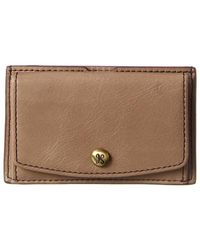 Hobo International Clem Leather Card Holder - Brown
