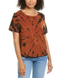 Amanda Uprichard Tie-dye T-shirt - Brown