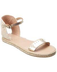 Ancient Greek Sandals Nina Leather Espadrille - Natural